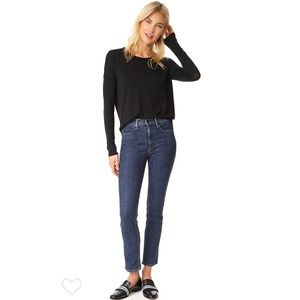 rag & bone cigarette jeans in Dark Paz NWT